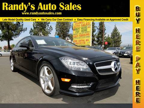 2014 Mercedes Benz CLS For Sale In Ontario, CA