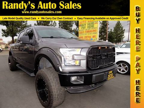 2015 Ford F-150 for sale in Ontario, CA
