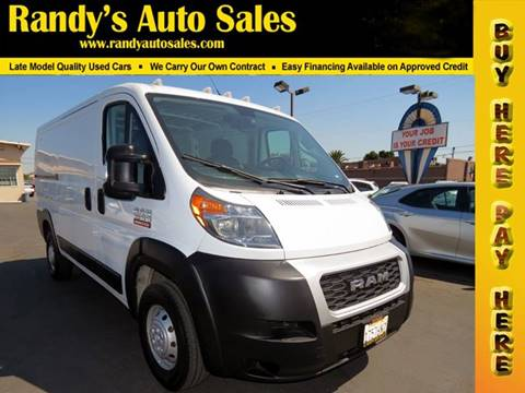2019 RAM ProMaster Cargo for sale in Ontario, CA
