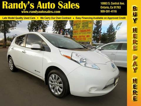 2014 Nissan LEAF for sale in Ontario, CA