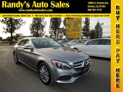 Mercedes benz c class for sale in ontario ca for Mercedes benz of ontario ontario ca