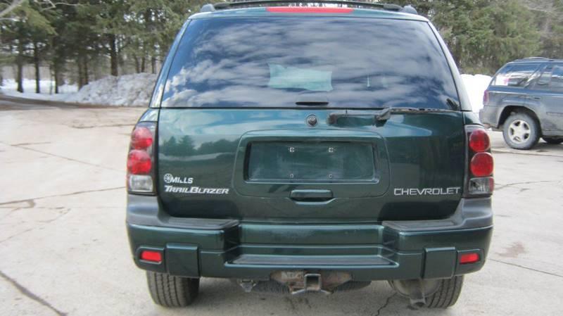 2003 Chevrolet TrailBlazer LS 4WD 4dr SUV - Wadena MN