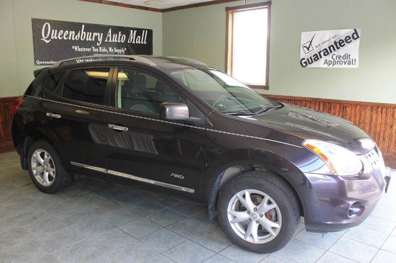 2011 NISSAN ROGUE SV AWD 4DR CROSSOVER amethyst black clean vehicle history - no accidents  two