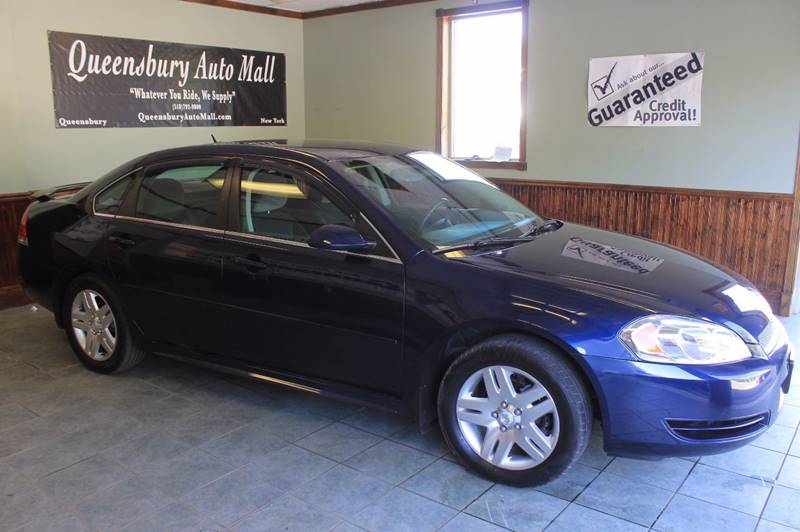 2012 CHEVROLET IMPALA LT 4DR SEDAN royal blue affordable classic style impala - guaranteed fin
