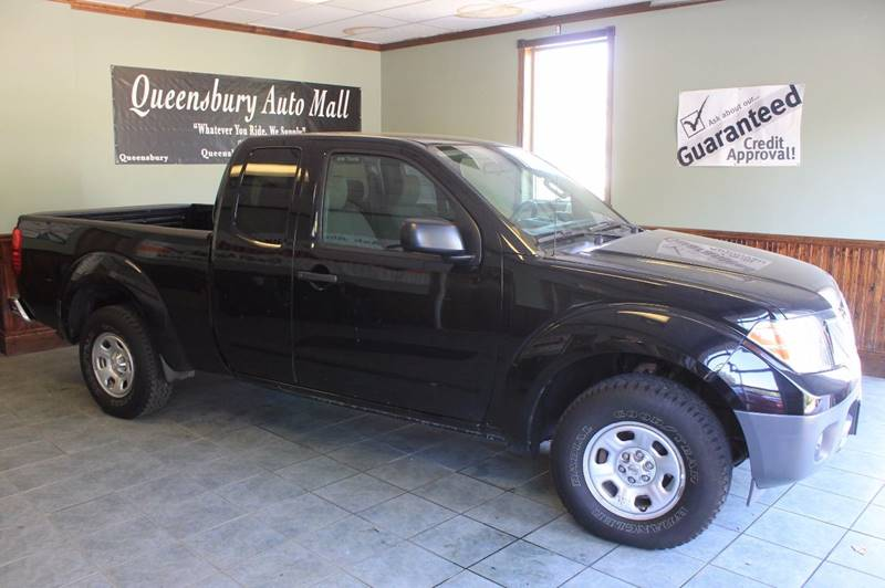 2015 NISSAN FRONTIER S 4X2 4DR KING CAB 61 FT SB PI liquid black newer model at red hot sale