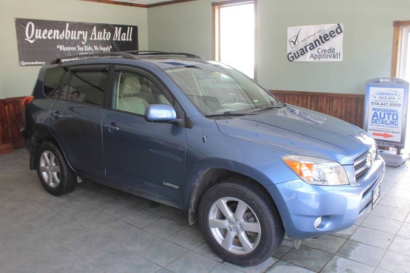 2008 TOYOTA RAV4 LIMITED 4X4 4DR SUV V6 baby blue 4wd great miled toyota rav4 limited at affor