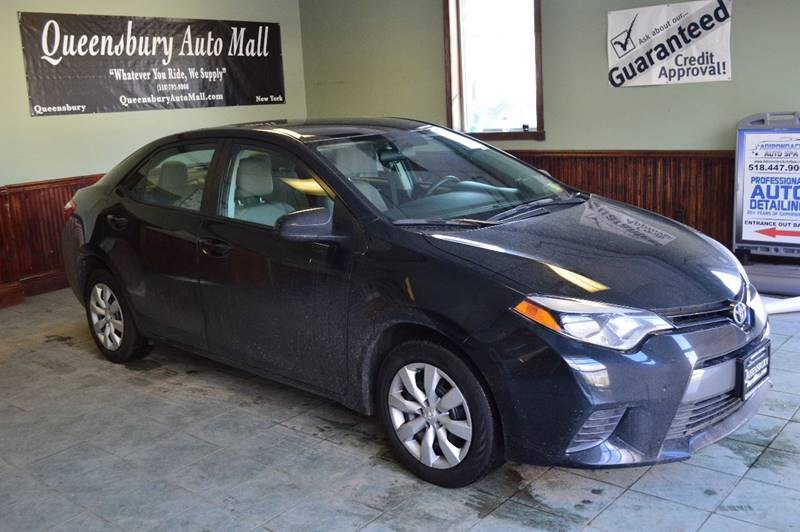 2016 TOYOTA COROLLA LE 4DR SEDAN black like new long term purchase low miled toyota corolla -