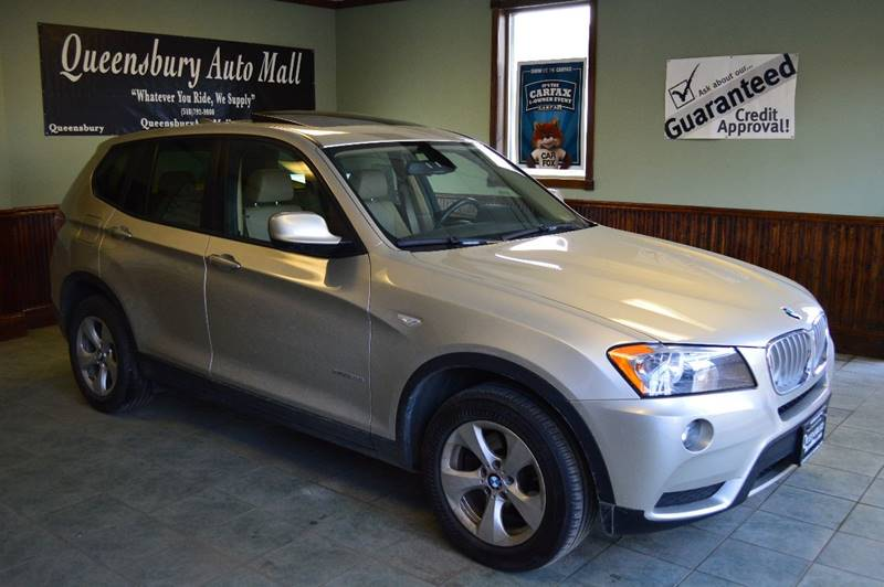 2012 BMW X3 XDRIVE28I AWD 4DR SUV silver fully loaded premium awd bmw suv - guaranteed credit