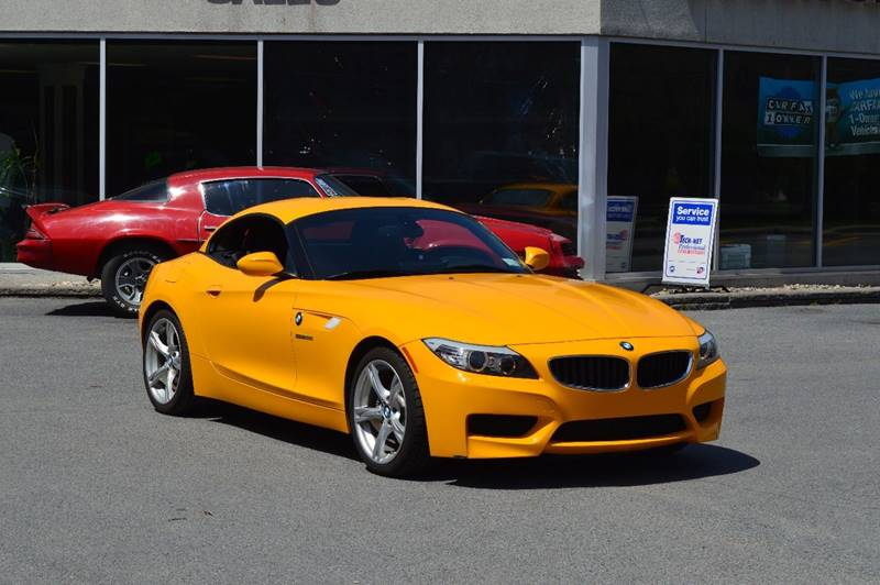 2013 BMW Z4 SDRIVE28I 2DR CONVERTIBLE yellow 2-stage unlocking doors abs - 4-wheel active head