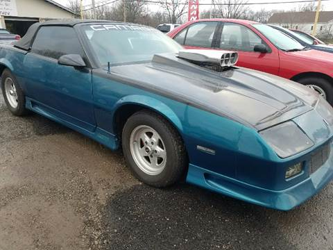 1991 Chevrolet Camaro For Sale  Carsforsalecom