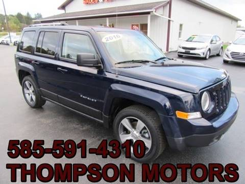 2016 Jeep Patriot for sale in Attica, NY
