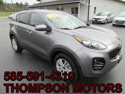 2017 Kia Sportage for sale in Attica, NY