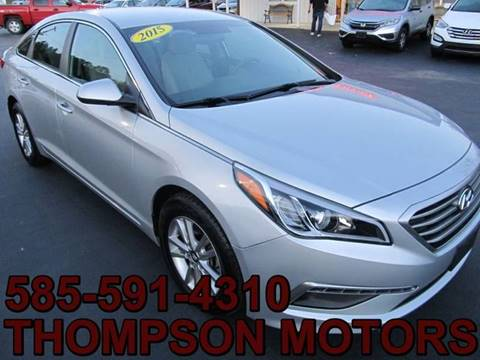 2015 Hyundai Sonata for sale at Thompson Motors LLC in Attica NY