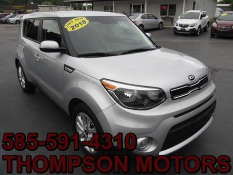 2018 Kia Soul for sale at Thompson Motors LLC in Attica NY