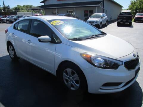 2016 Kia Forte for sale at Thompson Motors LLC in Attica NY