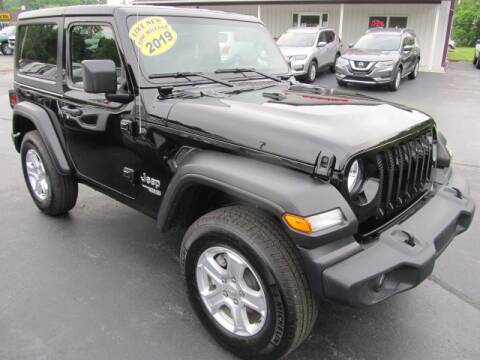 2019 Jeep Wrangler for sale at Thompson Motors LLC in Attica NY