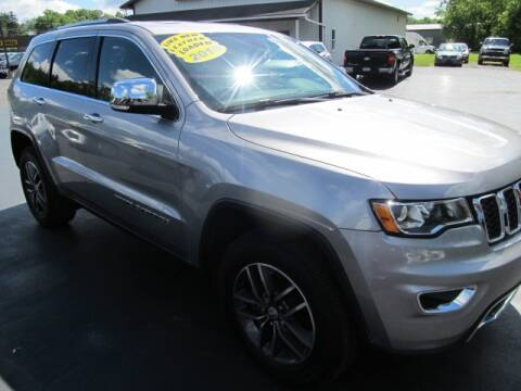 2018 Jeep Grand Cherokee for sale at Thompson Motors LLC in Attica NY