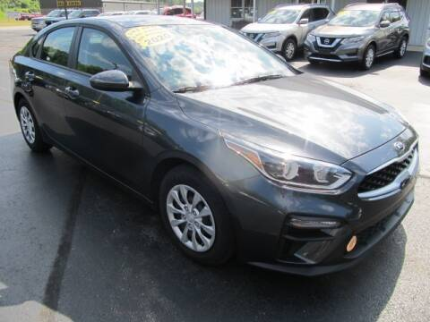 2020 Kia Forte for sale at Thompson Motors LLC in Attica NY