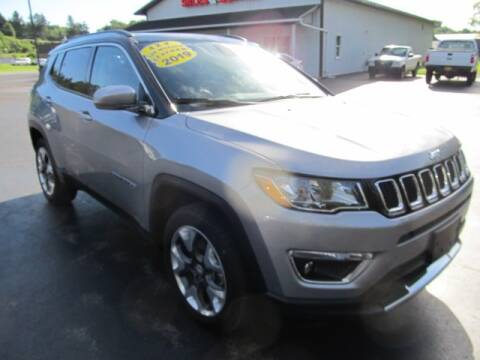 2019 Jeep Compass for sale at Thompson Motors LLC in Attica NY