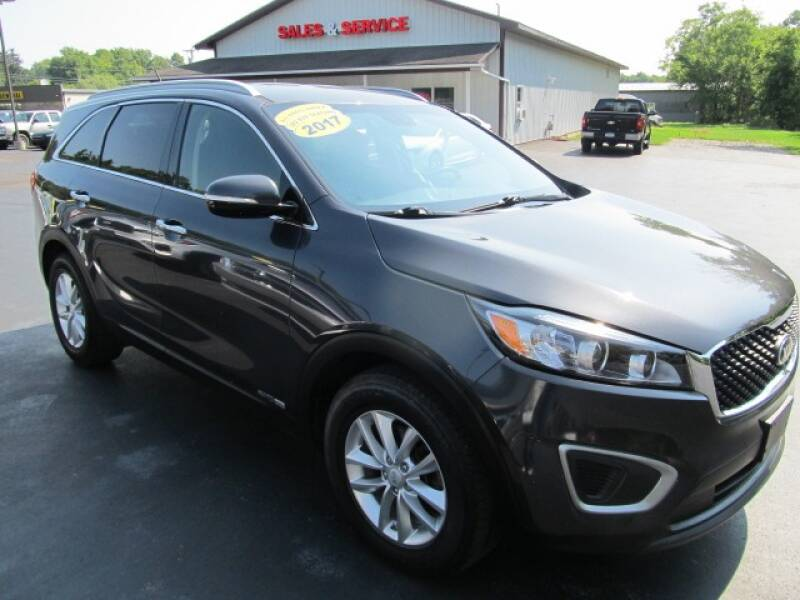 2017 Kia Sorento for sale at Thompson Motors LLC in Attica NY
