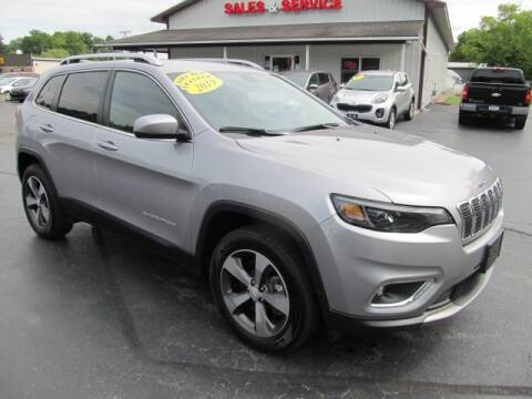 2019 Jeep Cherokee for sale at Thompson Motors LLC in Attica NY