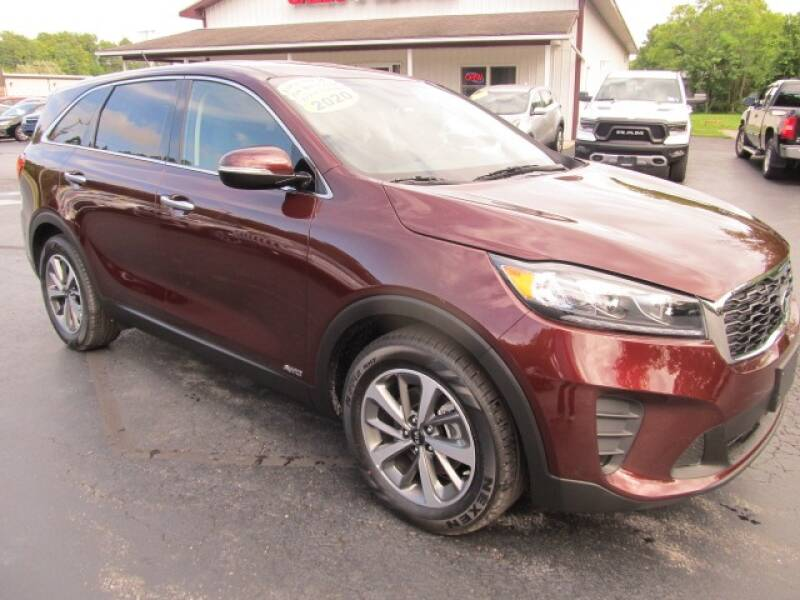 2020 Kia Sorento for sale at Thompson Motors LLC in Attica NY