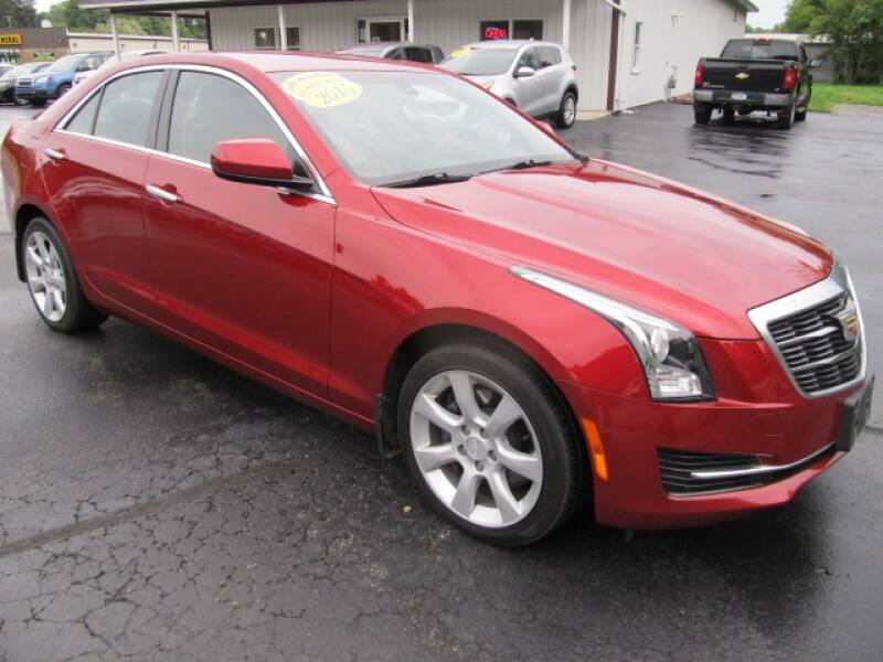 2015 Cadillac ATS for sale at Thompson Motors LLC in Attica NY