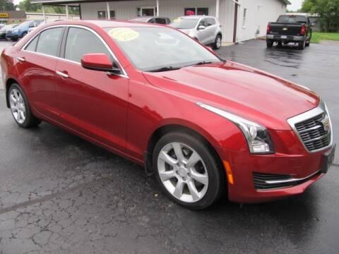 2015 Cadillac ATS for sale at Thompson Motors LLC in Attica NY