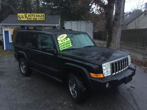 2007 Jeep Commander for sale at S & K Auto Sales in Westport MA