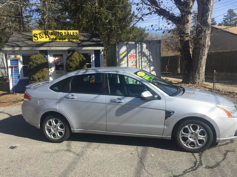 2008 Ford Focus for sale at S & K Auto Sales in Westport MA