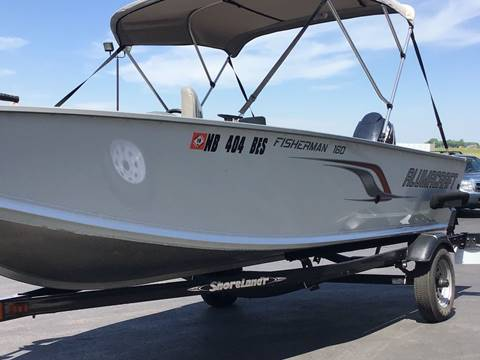 2011 Alumcraft Fisherman 16 for sale in Marshall, MN