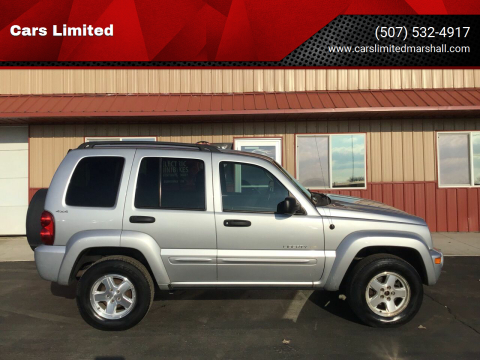 2002 Jeep Liberty Limited for sale at Cars Limited in Marshall MN