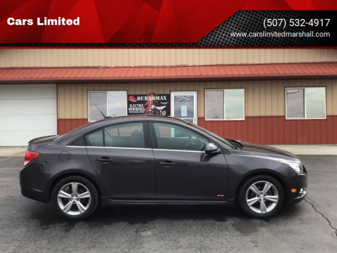 2014 Chevrolet Cruze 2LT Auto for sale at Cars Limited in Marshall MN