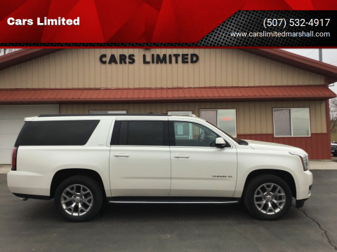 2015 GMC Yukon XL SLT 1500 for sale at Cars Limited in Marshall MN