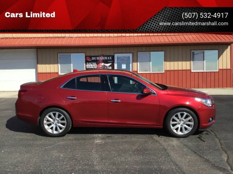 2014 Chevrolet Malibu LTZ for sale at Cars Limited in Marshall MN
