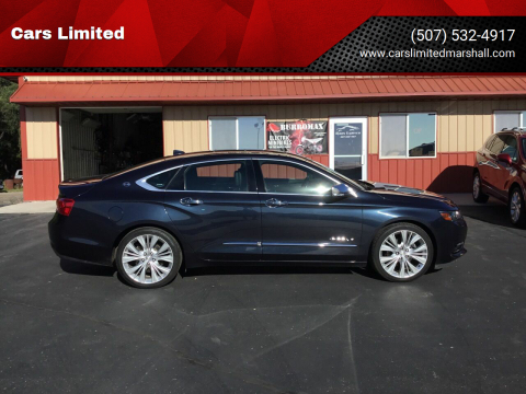 2014 Chevrolet Impala for sale at Cars Limited in Marshall MN