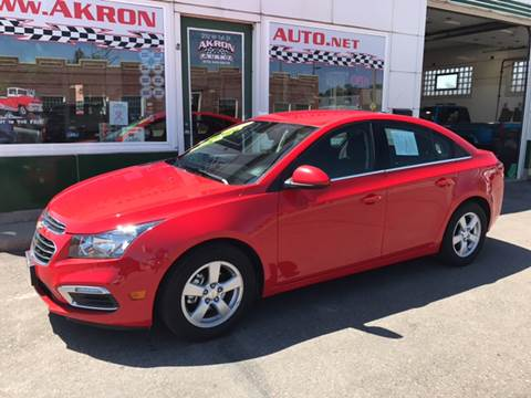2016 Chevrolet Cruze Limited for sale in Akron, CO