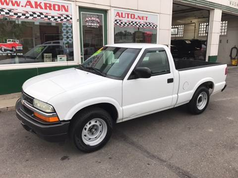 2003 Chevrolet S-10 for sale in Akron, CO