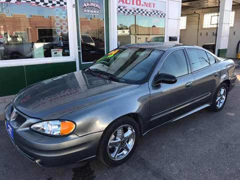 2004 Pontiac Grand Am for sale in Akron, CO