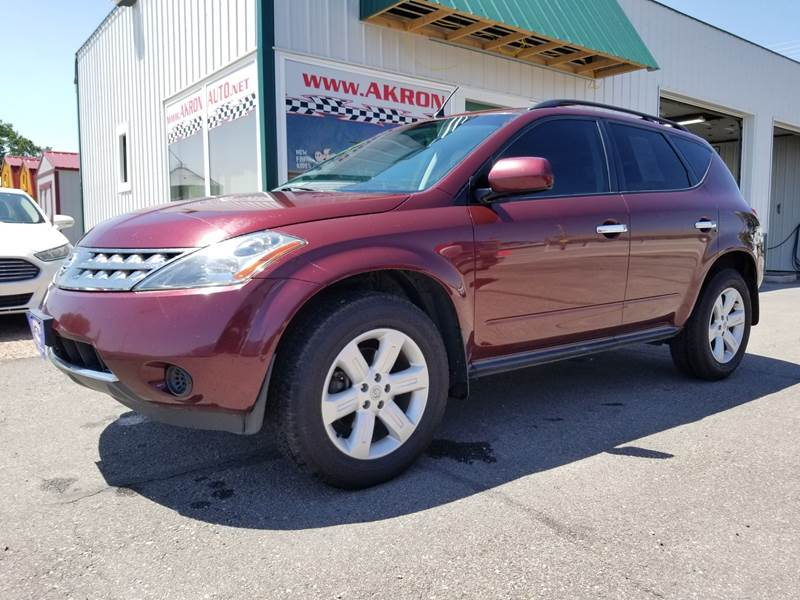 2006 Nissan Murano AWD S 4dr SUV   Akron CO