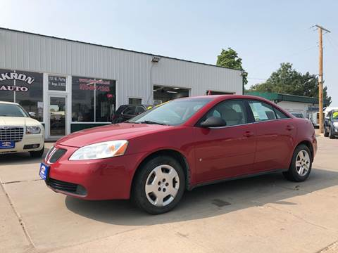 2007 Pontiac G6 for sale in Fort Morgan, CO