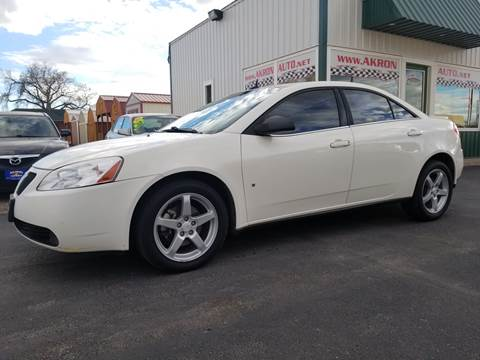 2008 Pontiac G6 for sale in Akron, CO
