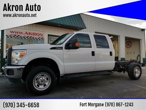 2014 Ford F-350 Super Duty for sale in Akron, CO