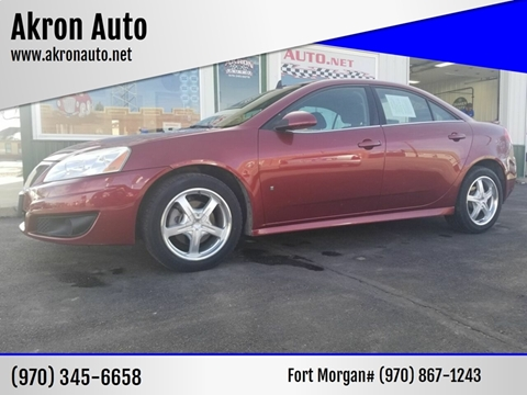 2009 Pontiac G6 for sale in Akron, CO