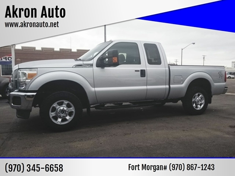 2014 Ford F-250 Super Duty for sale in Akron, CO