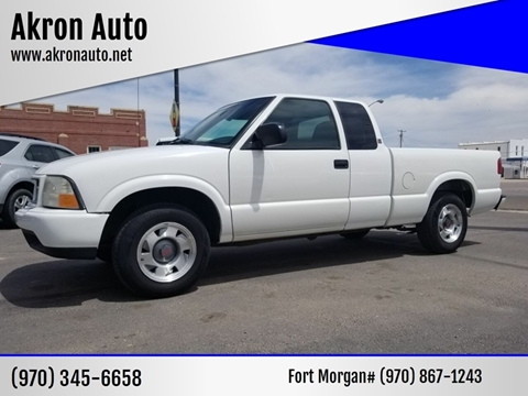 2000 GMC Sonoma for sale in Akron, CO