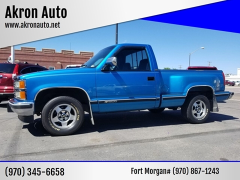 Chevrolet C K 1500 Series For Sale In Akron Co Akron Auto