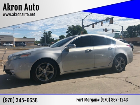 2010 Acura Tl For Sale >> Acura Tl For Sale In Akron Co Akron Auto