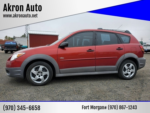 2007 Pontiac Vibe for sale in Akron, CO