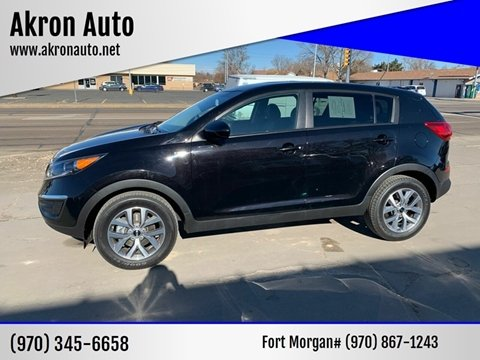 2016 Kia Sportage for sale at Akron Auto - Fort Morgan in Fort Morgan CO